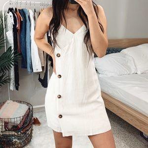 LAST 🆕 Mariah Oatmeal Mini Dress